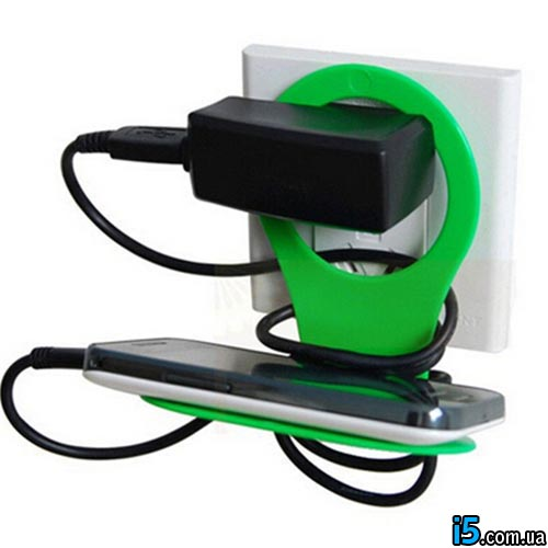 Держатель для зарядки телефона на розетку