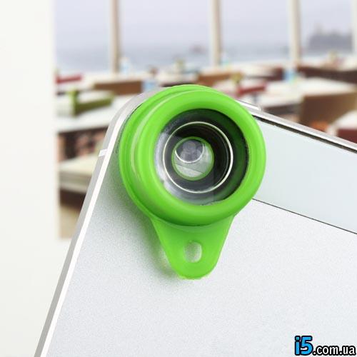 Объектив брелок fisheye для Iphone