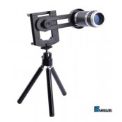 Объектив телескоп 8 кр зум со штативом для Iphone