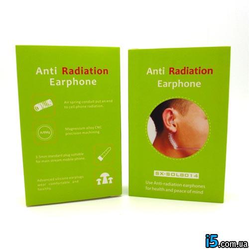Наушники анти радиация 1 шт для Iphone