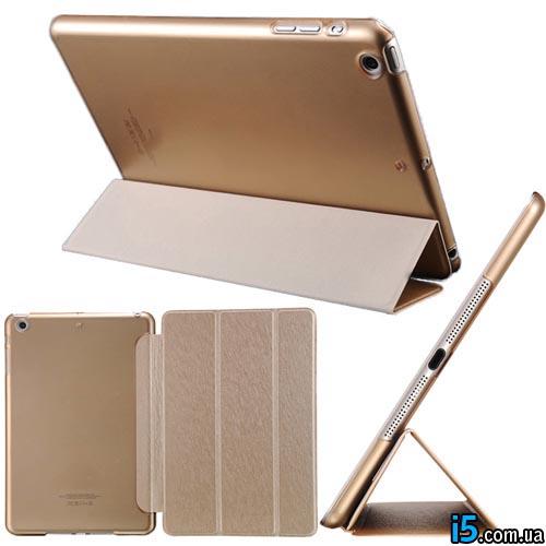 Чехол золотой smart case на Ipad mini 7.95