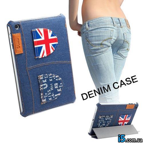 Чехол джинсовый на Ipad mini 7.95