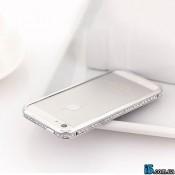 Чехол тонкий бампер стразы на Iphone 5/5s