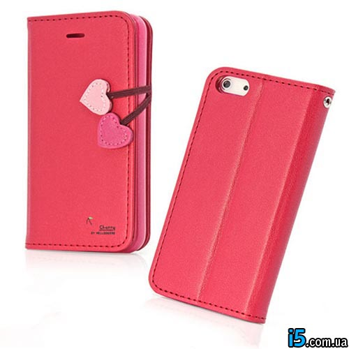 Чехол красная книга Love на Iphone 5/5s