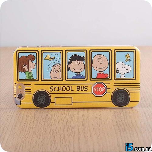 Чехол школьный автобус на Iphone 6/6s