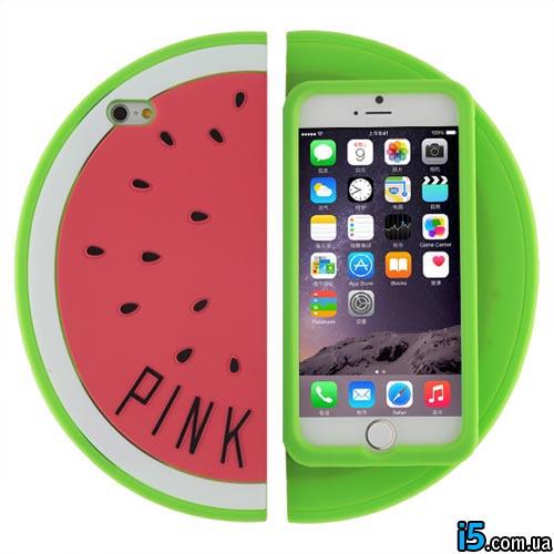 Чехол 3d арбуз на Iphone 6/6s