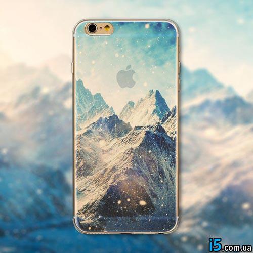 Чехол рисунок горы на Iphone 6/6s