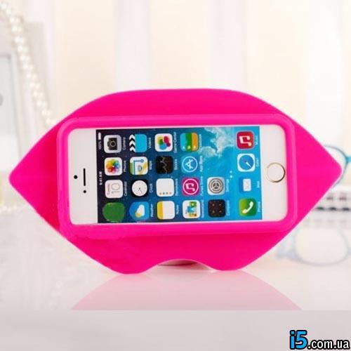 Чехол 3d губы на Iphone 6/6s