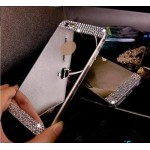 Чехол зеркальные стразы на Iphone 6/6s