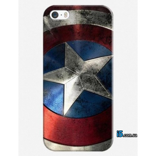 Чехол Marvel Captain America на Iphone 5/5s