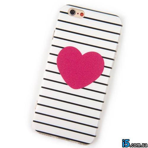 Чехол Love сердце на Iphone 5/5s