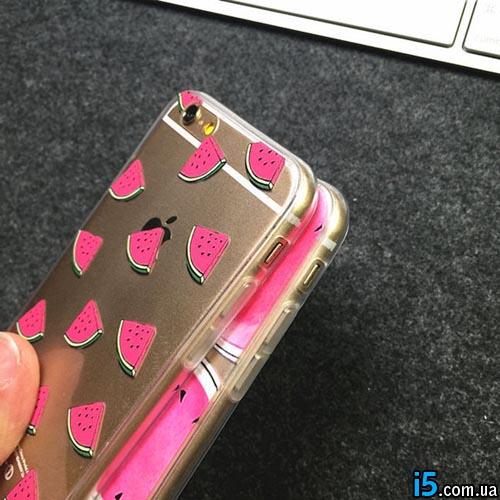 Чехол кусочки Арбуза на Iphone 5/5s
