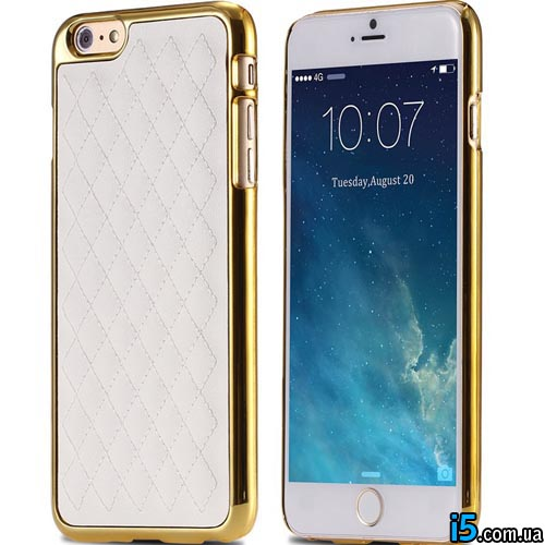 Чехол бампер с кожей на Iphone 6/6s