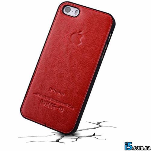 Чехол кожаный бампер на Iphone 5/5s