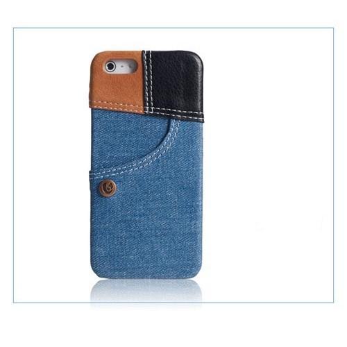 Чехол джинсовый Denim на Iphone 5/5s
