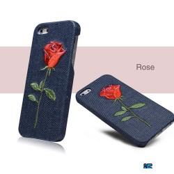 Чехол роза Denim на Iphone 5/5s