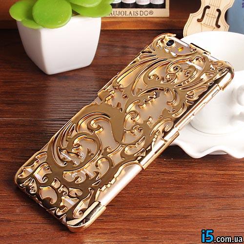 Чехол золотые узоры на Iphone 6/6s