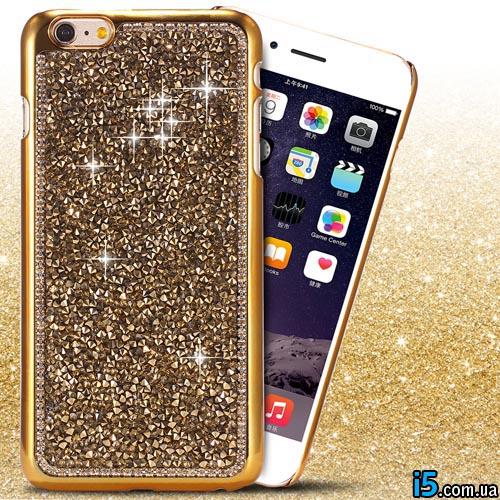Чехол ультра золотой на Iphone 6/6s