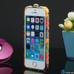 Чехол Czekh бампер кристаллы на Iphone 5/5s