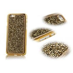 Чехол золотые стразы камни на Iphone 5/5s