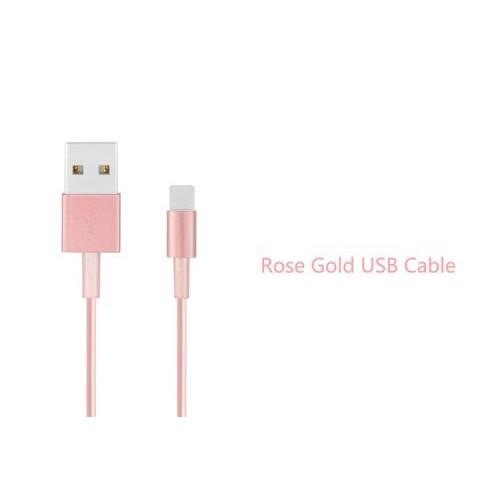 USB кабель Rose Gold для Iphone