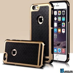 Чехол золотой с защитой на Iphone 6/6s