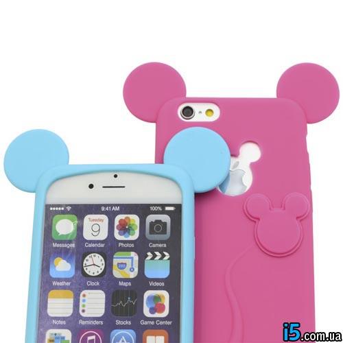 Чехол симпатичный Микки на Iphone 6/6s