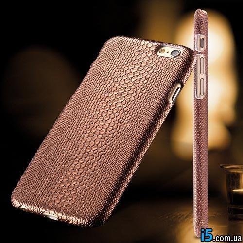Чехол Кожа змеи на Iphone 6 plus