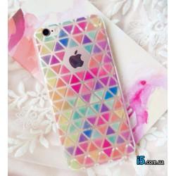 Чехол цветной Ромб на Iphone 6/6s