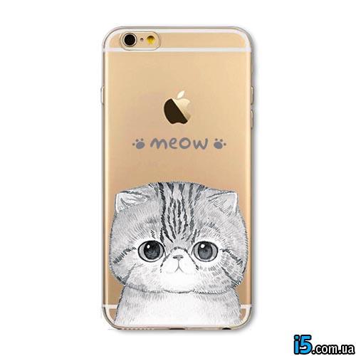 Чехол Meow на Iphone 6/6s
