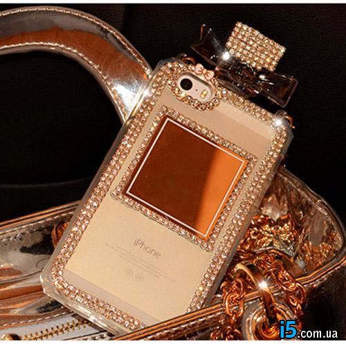 Чехол Perfume Стразы на Iphone 6/6s