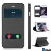 Чехол кожаный flip на Iphone 6 plus