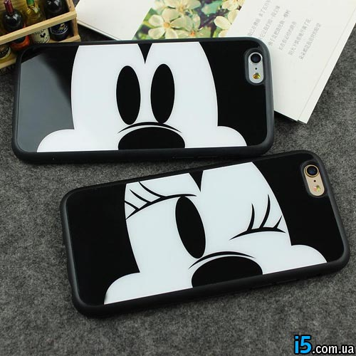 Чехол Mickey Minnie Mouse на Iphone 6 plus