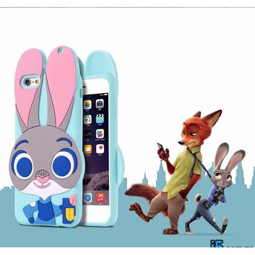 Чехол зоотрополис Джуди Хопс на Iphone 6 plus