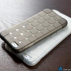 Чехол силиконовый ребристый на Iphone 6/6s