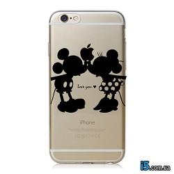 Чехол Mickey Love на Iphone 8 PLUS