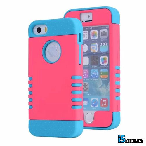 Чехол Розовый Anti Shock на Iphone 8 PLUS