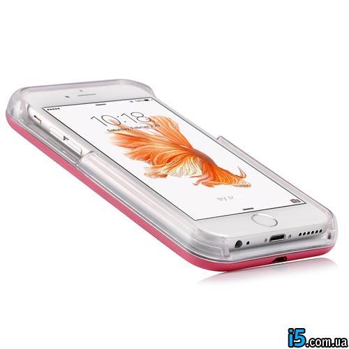 Чехол LED вспышка для selfie на Iphone 6 plus