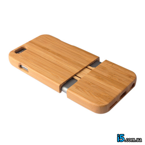 Чехол Деревянный Классический Складной на Iphone 6/6s PLUS