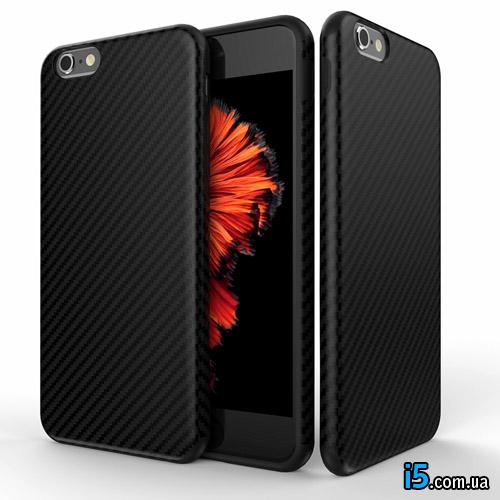 Чехол карбон на Iphone 7 PLUS