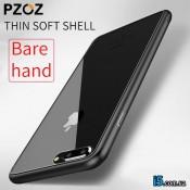 Чехол черный глянцевый на Iphone 8