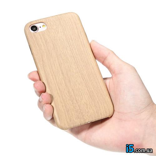 Чехол деревянный на Iphone 8