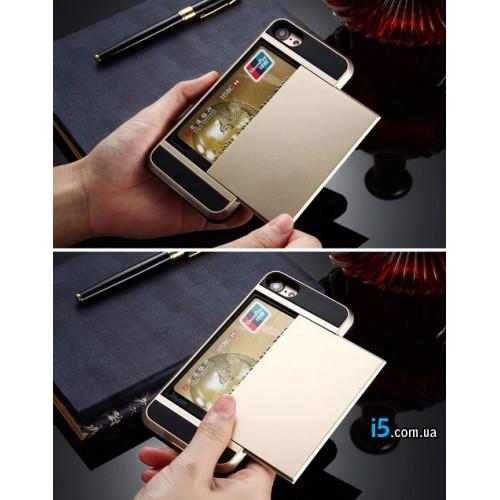 Чехол гибрид слот для карты на Iphone 7 PLUS