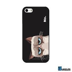 Чехол угрюмый кот на Iphone 8 PLUS