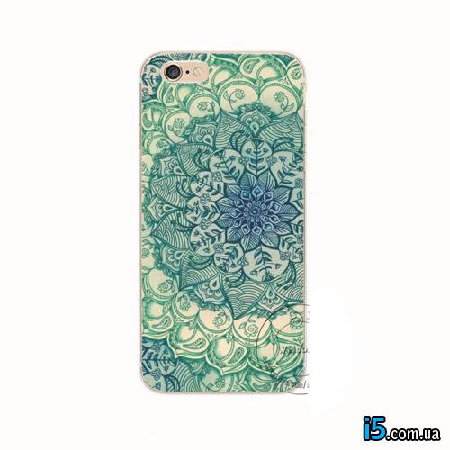 Чехол с цветочным принтом на Iphone 7