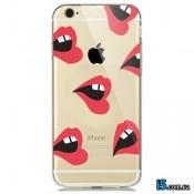 Чехол красные губы на Iphone 7 PLUS
