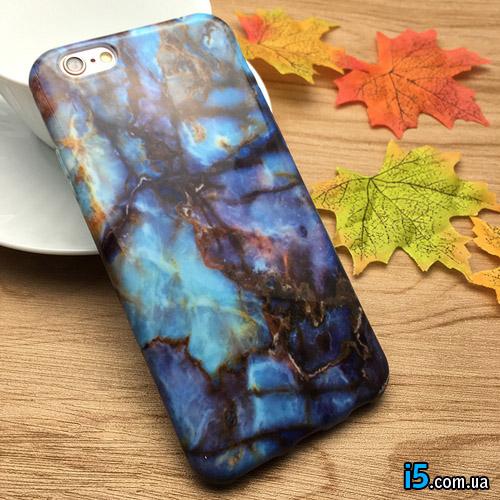 Чехол мраморный на Iphone 7