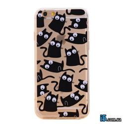 Чехол с котятами на Iphone 7