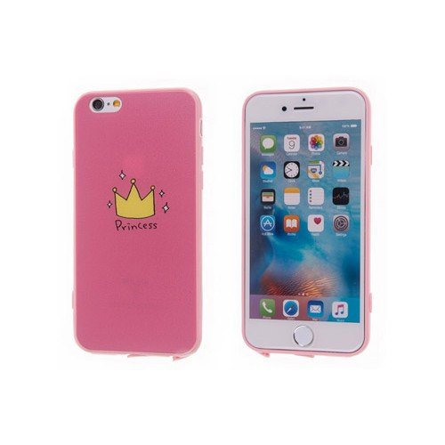 Чехол принцесса на Iphone 8 PLUS