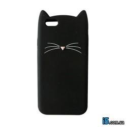 Чехол черный котик на Iphone 8 PLUS